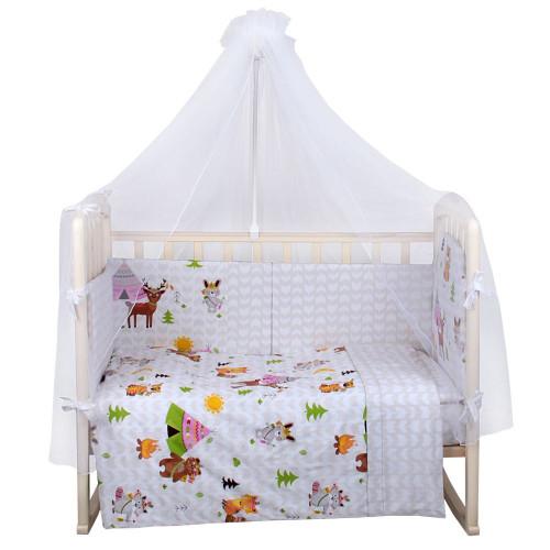 Комплект в кроватку АПАЧИ 8 предм.
