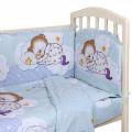 Комплект в кроватку 6 предметов Сладкий сон