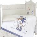 Комплект в кроватку 6 предметов Бурёнушка