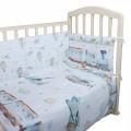 Комплект в кроватку 6 предметов Вокруг света