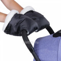 Муфта Карапуз рукавички для рук на коляску (мех)