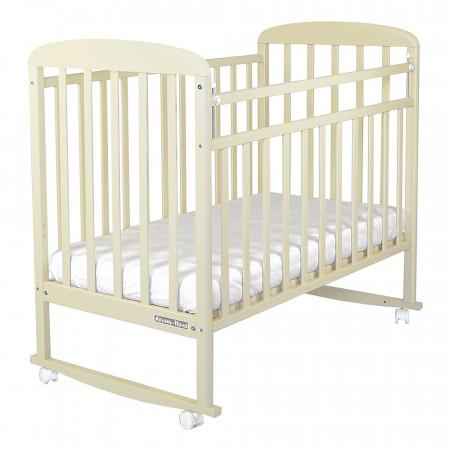 Кровать детская Милана колесо-качалка - бежевый