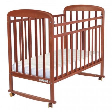 Кровать детская Милана колесо-качалка - орех