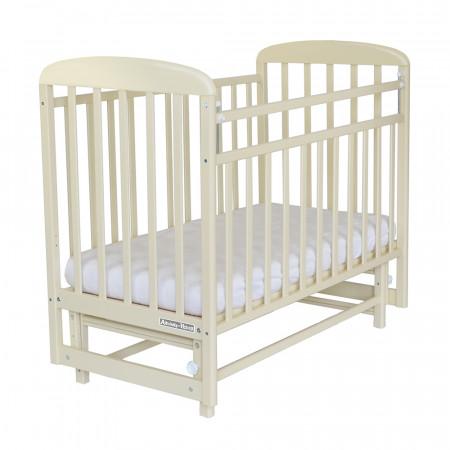 Кровать детская Милана поперечный маятник - бежевый