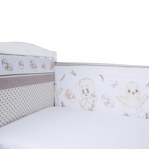 Борт в кроватку Цыплята