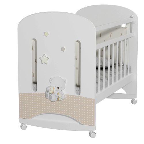 Кровать детская Amici Nuvola (колесо-качалка)