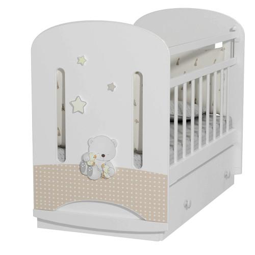Кровать детская Amici Nuvola (маятник с ящиком)