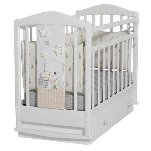 Кровать детская Amici Prima (маятник с ящиком)