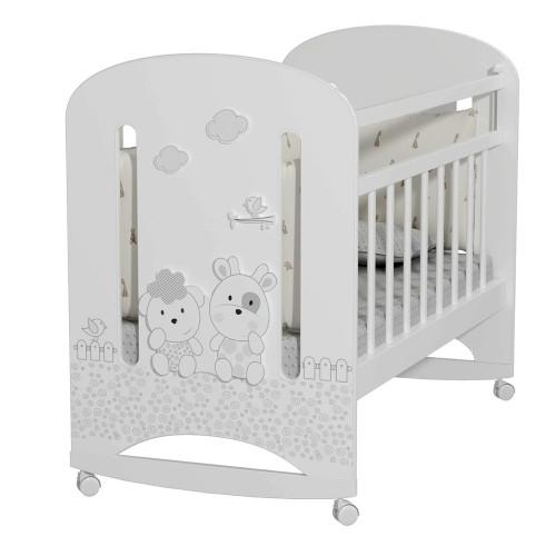 Кровать детская Fattoria Nuvola колесо-качалка