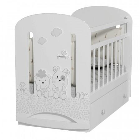 Кровать детская Fattoria Nuvola маятник с ящиком