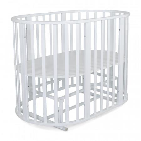 Кровать детская 6в 1 Омега - белый