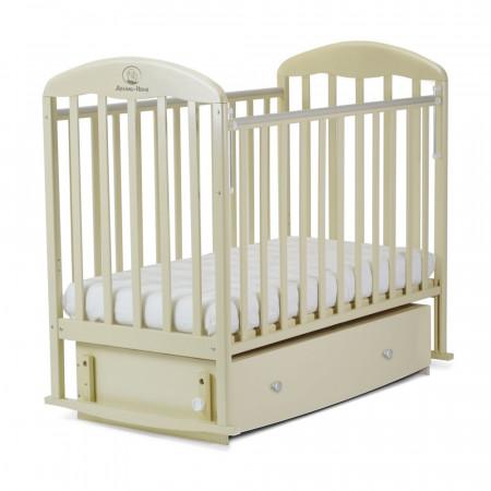 Кровать детская ВЕНЕЦИЯ маятник поперечный, ящик