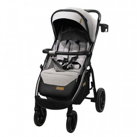 Коляска прогулочная Indigo EPICA LUX - светло-серый